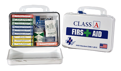 Class A First Aid Kits and Cabinets