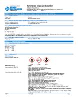 SDS_-Ammonia Inhalant – James Alexander-_James_Alexander