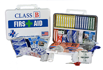 Class B First Aid Kits and Cabinets