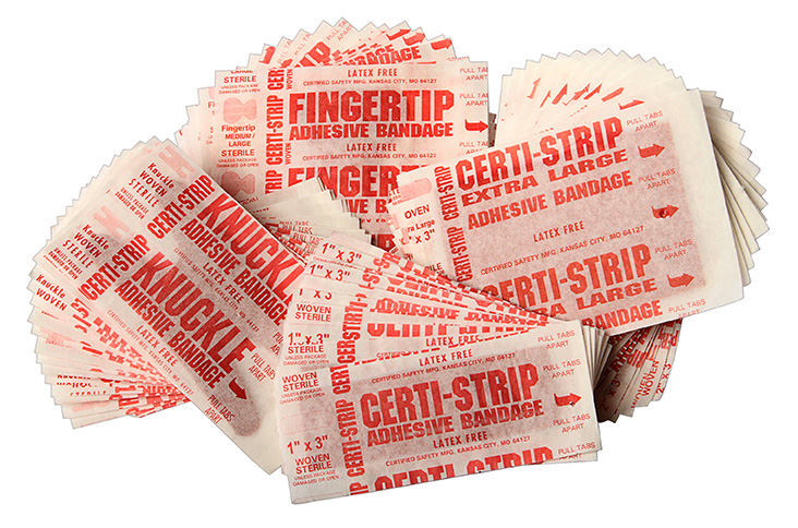 Certi-Strips Adhesive Bandages - Woven
