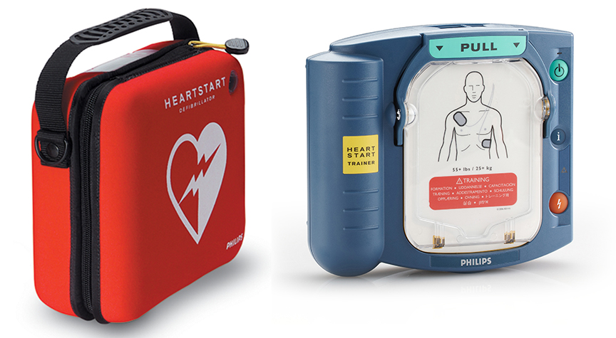 CPR, AED, Blankets