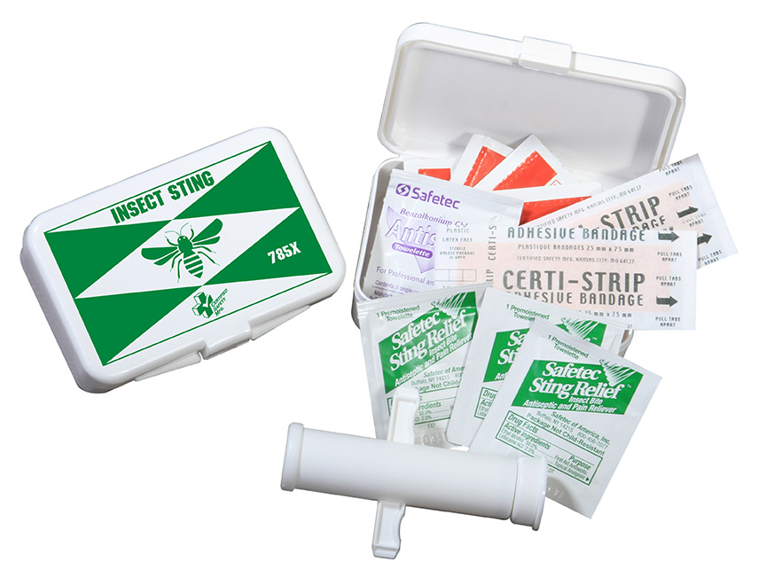K216-024 --- 785X-Insect Sting Kit --- Poly Box