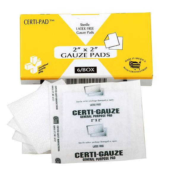 R211-029 - 647 - Certi-Gauze Pads - 2 X 2