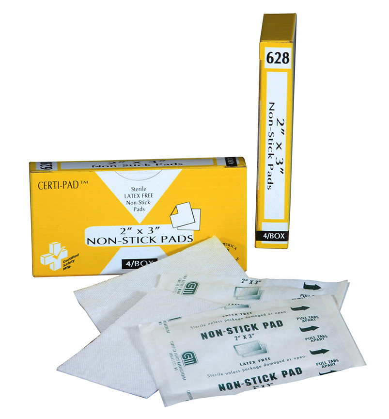 R211-030 - 628 - Certi-Gauze Non-Stick Pads - 2x3