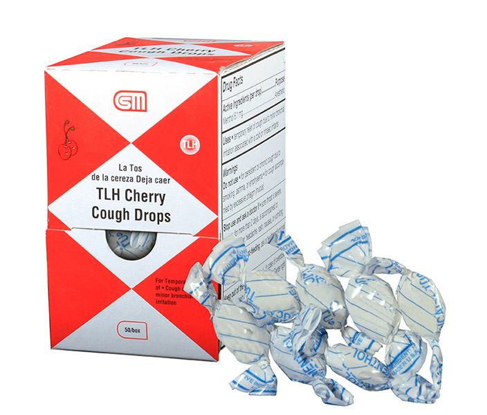R241-012 - TLH Cough and Sore Throat - Cherry - 50 Drops - 2