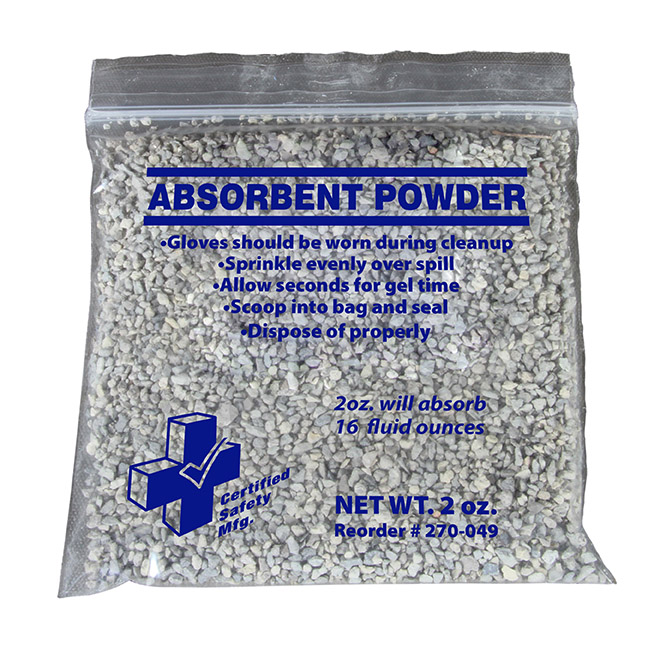 ABSORBENT POWDER
