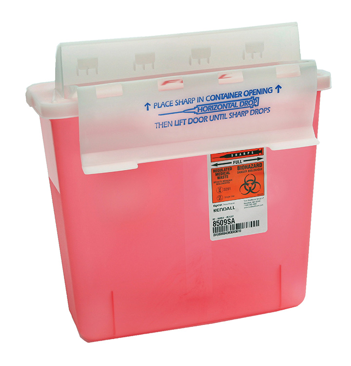 R506-250 - Sharps Container 5qt