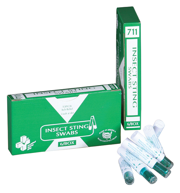 R512-002 --- 714 - Insect Sting Swabs - Capsules - 6 unit