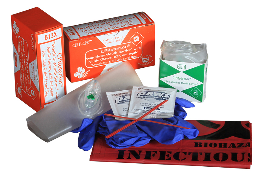 R216-062 --- 813X - CPRotector - wNitrile Gloves - Towelette Biohazard Bag - 4unit - web