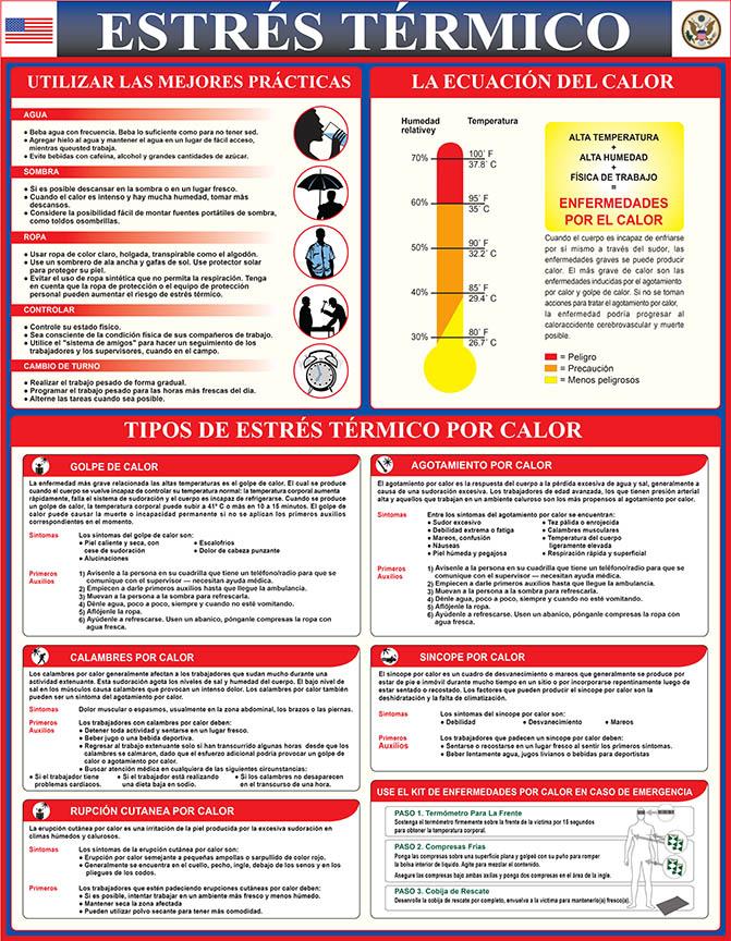 R512-014 --- Heat Stress - First Aid - Spanish - web