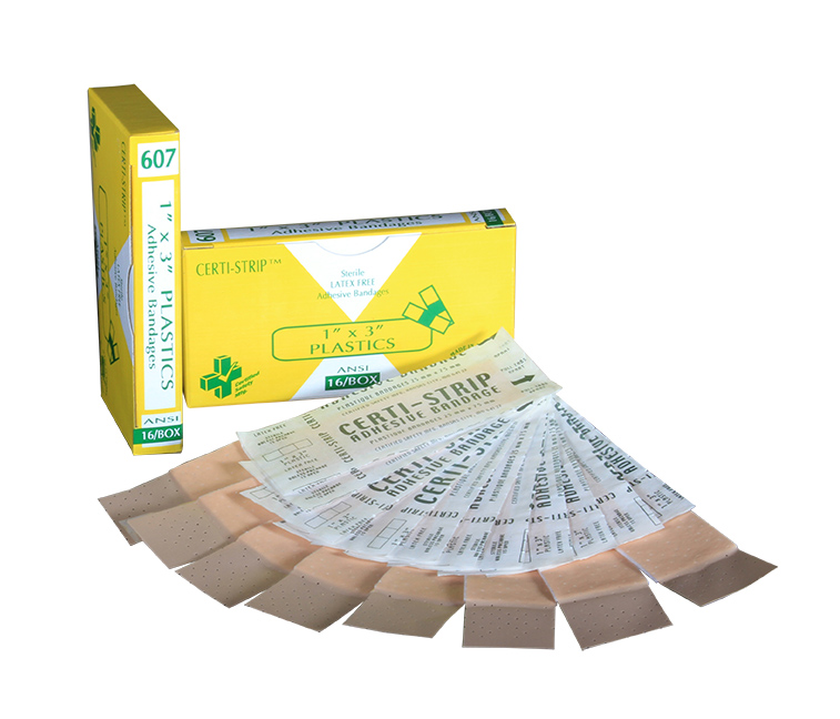 R210-006 --- 607 -Certi-Strips - Plastic - 1x3 - 16 unit - web