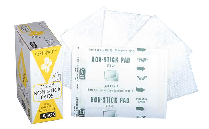 R231-305 --- Certi-Gauze Non-Stick Pads - 3x4 - 10 unit - web