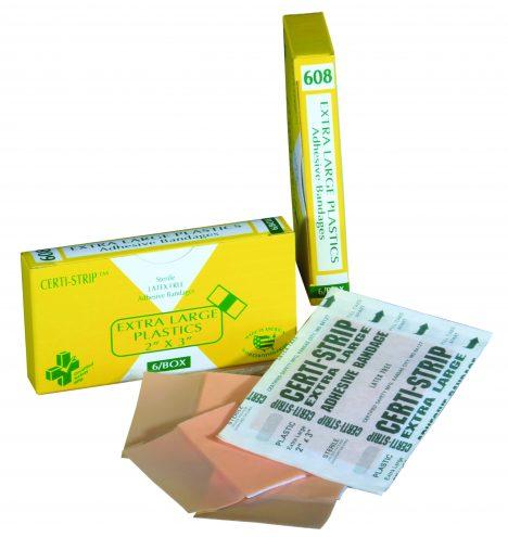 R210-009 — 608 – Certi-Strips – Plastic – Xtra Large – COB – rg